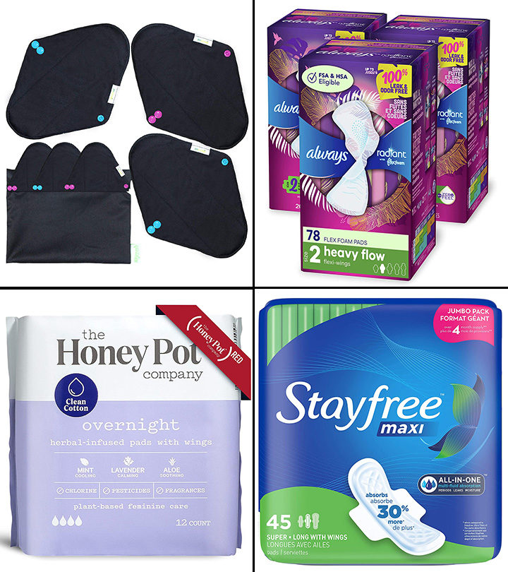 11 Best Pads For Heavy Periods In 2021