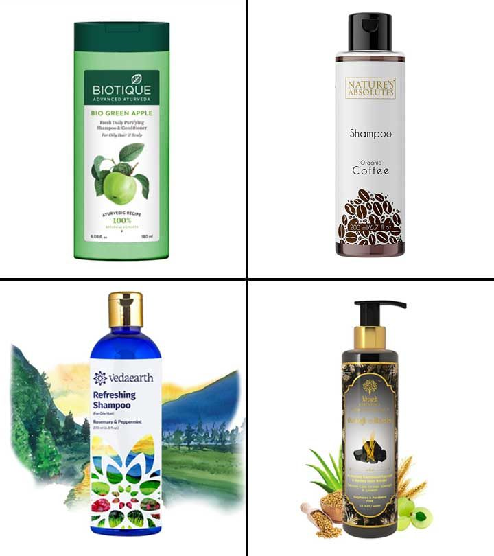 11 Best Shampoos For Oily Scalp In India 2021