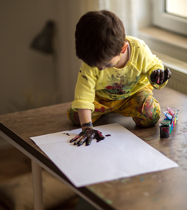 15 Safe And Easy Finger Painting Ideas For Toddlers 1