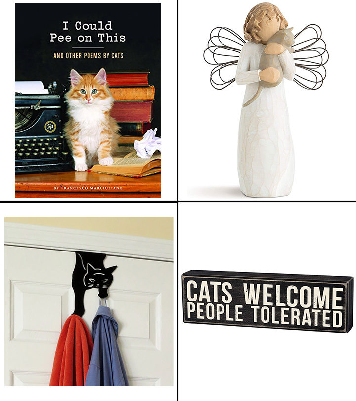 17 Best Gifts For Cat Lovers In 2021