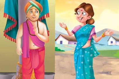 तेनाली रामा की कहानियां: अद्भुत कपड़ा   Adbhut Kapada Tenali Rama Story In Hindi