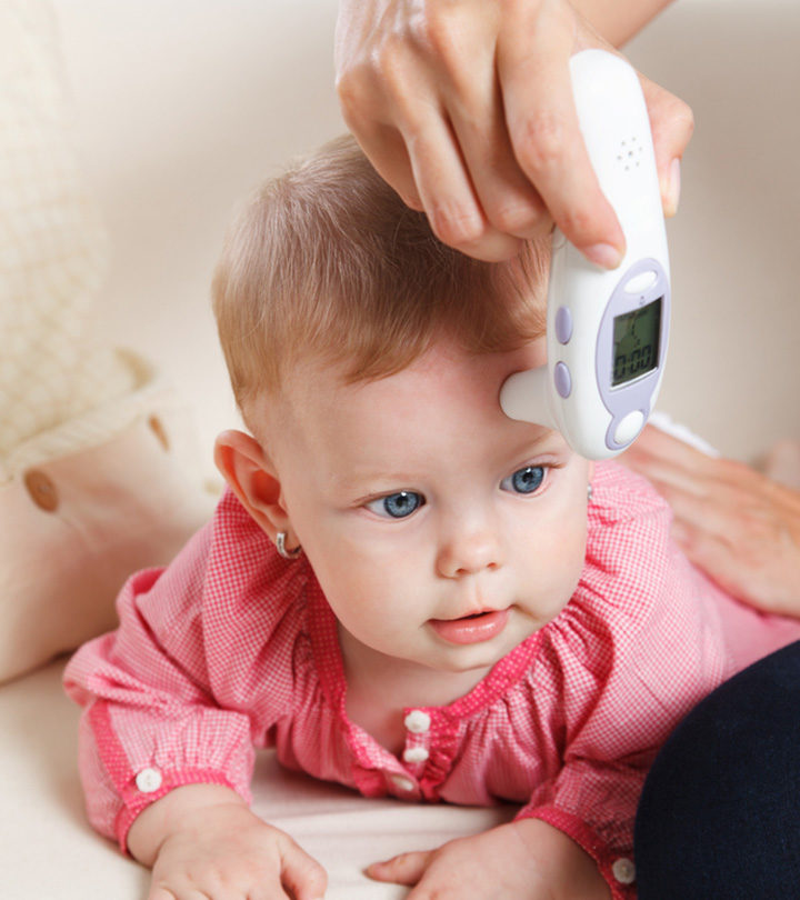 Baby's Head Hot, But No Fever In Hindi