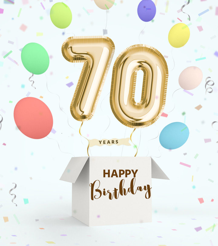 Best And Funny 70th Birthday Wishes And Messages