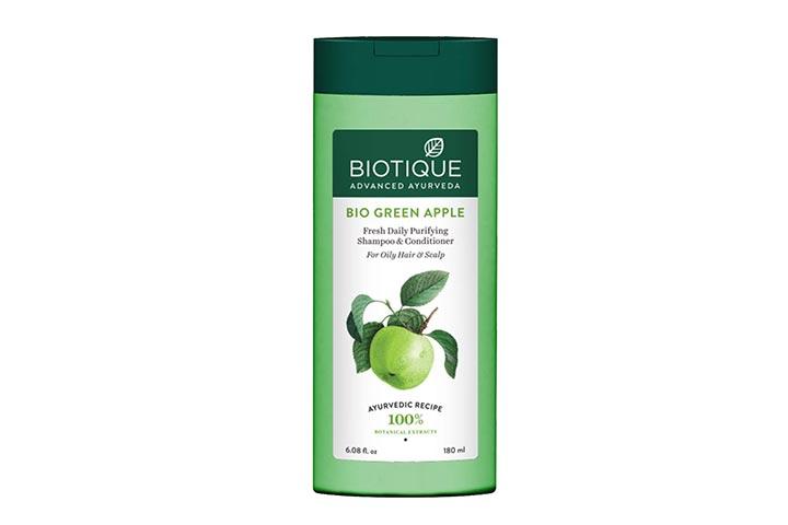 Biotique Bio Green Apple Fresh Daily Purifying Shampoo