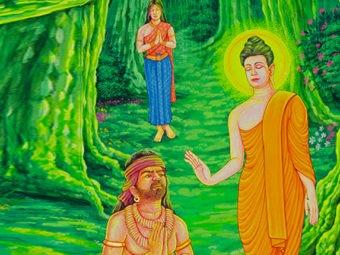 जातक कथा: गौतम बुद्ध और अंगुलिमाल की कथा   Gautam Budha And Angulimal Ki Kahani