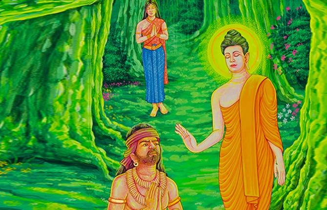 Gautam Budha And Angulimal Ki Kahani