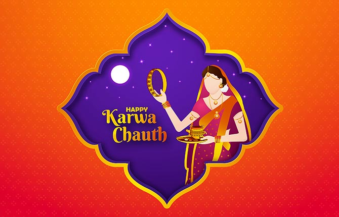 Karwa Chauth Vrat Katha In Hindi-1