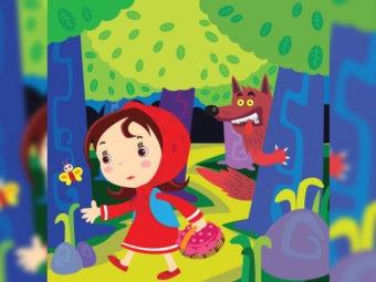 नन्ही लाल चुन्नी की कहानी | Little Red Riding Hood Story In Hindi