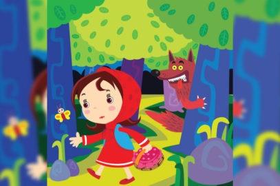 नन्ही लाल चुन्नी की कहानी   Little Red Riding Hood Story In Hindi