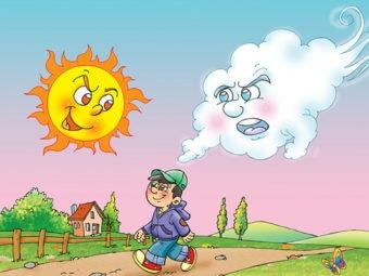 सूर्य और वायु की कहानी | Sun And Wind Story In Hindi
