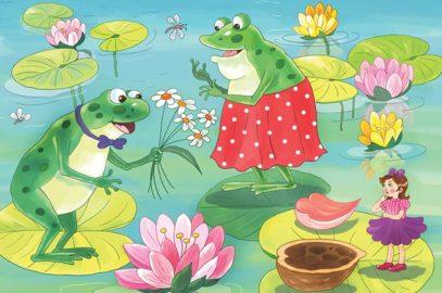 फूलों की राजकुमारी थंबलीना की कहानी | Thumbelina Story In Hindi