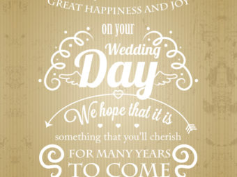 150+ Wedding Wishes And Messages To Congratulate The Couples
